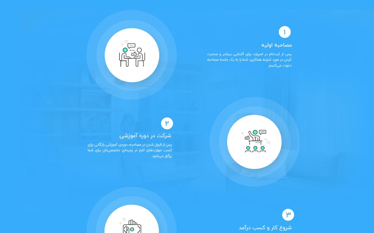 طراحی وب سایت اسپارد