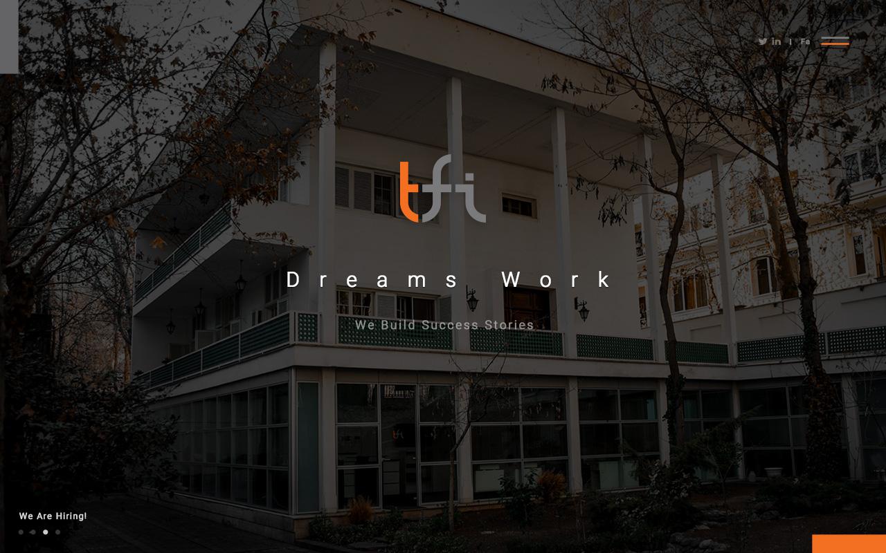 طراحی وب سایت تیفای
