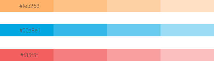 چه رنگهایی انتخاب کردیم